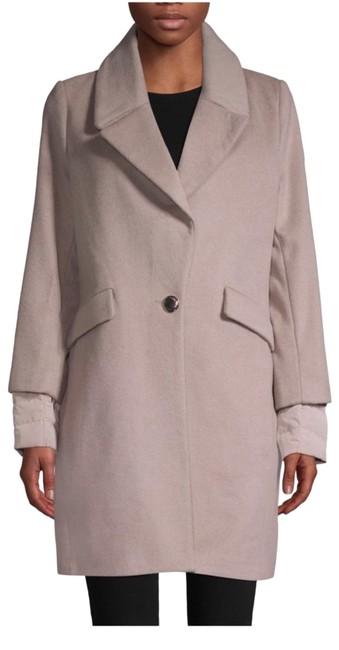 Item - Beige Down Puffer Back Coat Size 8 (M)
