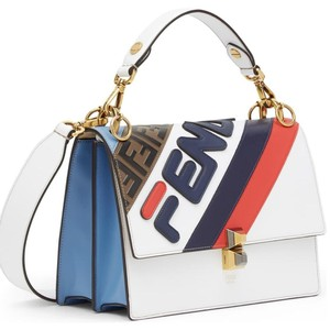 Fendi Fila Mania Kan Shoulder Bag