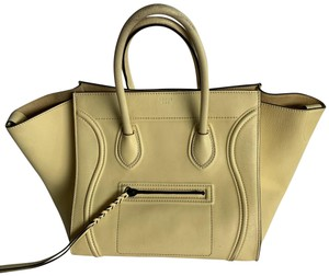 Céline Tote in light yellow