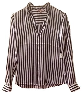 Juicy Couture Top Navy And White