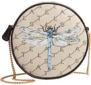 Stella McCartney Monogram Circle Dragonfly Round Cross Body Bag