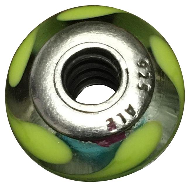 Item - Torquoise and Green Murano Charm