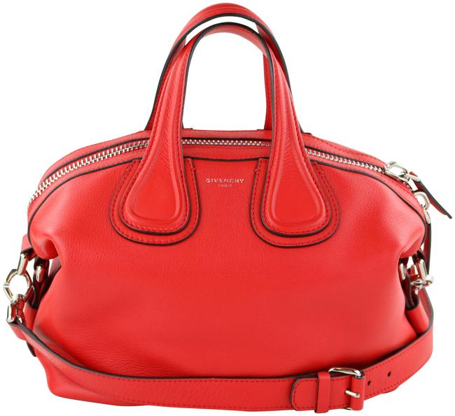 Item - Small Nightingale Red Leather Satchel