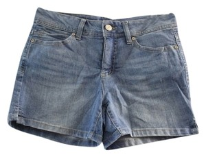 Faded Glory Denim Shorts-Light Wash