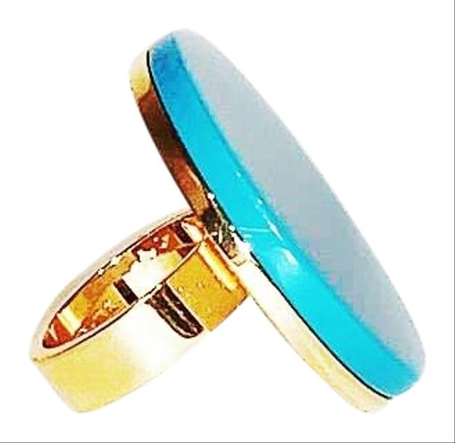 Item - Blue New York Gold Plated 18kt Sz5.5 New Ring