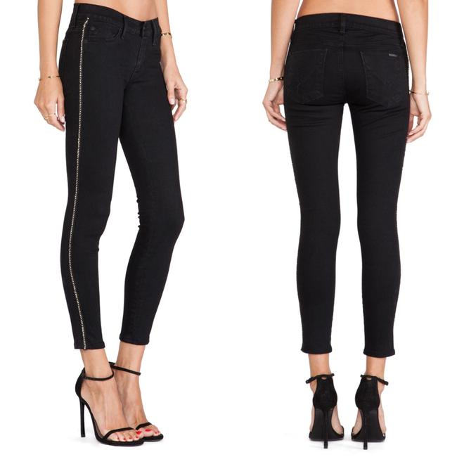 Item - Black Luna Super Crop Skinny Jeans Size 00 (XXS, 24)