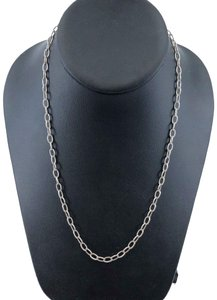 Milor Milor Italy 950 Silver Open Link Chain 18 Inches 8.9 Grams