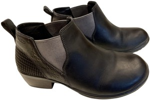 Keen 9wide Leather Black Boots
