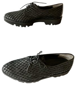 Paul Green Oxfords Rubber Oxford Black Flats