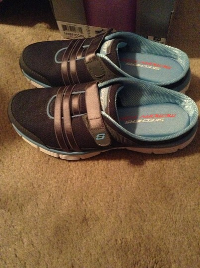 Skechers Charcoal and blue Athletic
