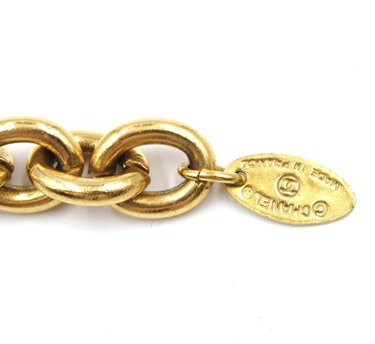 Chanel RARE Quilted CC double charm CC chain long gold necklace belt two way Image 3