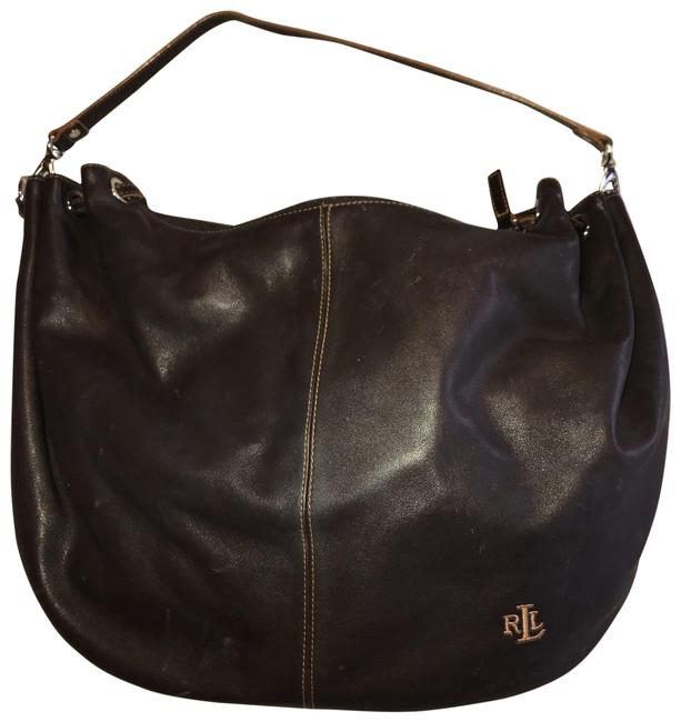 Item - Vintage Early 2000s Brown Leather Hobo Bag