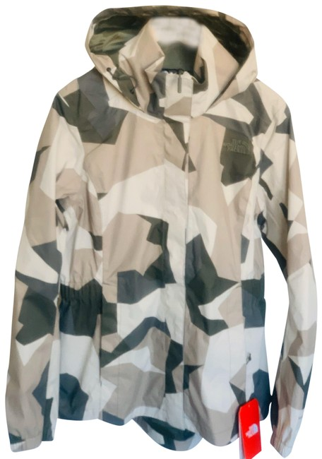 Item - Beige Green Gray Tan Resolve Rain Parka Coat Size 8 (M)