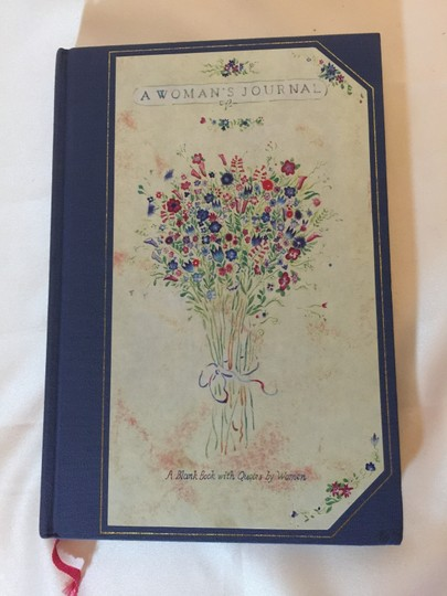 Other A Woman's Journal; A Blank Book with Quotes by Women [ Roxanne Anjou Closet ]