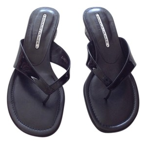 Dinald Pliner Black Sandals