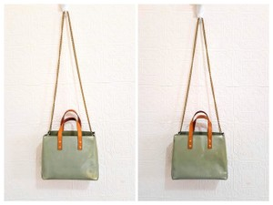 Louis Vuitton Lv Vernis Handbag Shoulder Tote in Olive Green