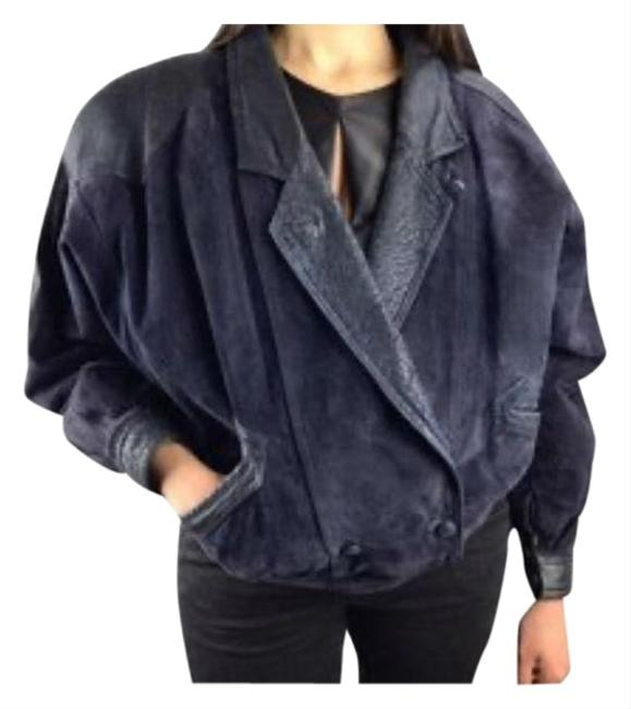 Item - Purple Women's 80s Suede and Crop Small Jacket Size 4 (S)