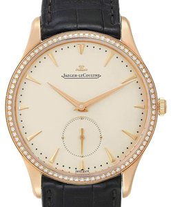 Jaeger-LeCoultre Jaeger Lecoultre Master Grande Ultra Thin 40mm Rose Gold Diamond Watch