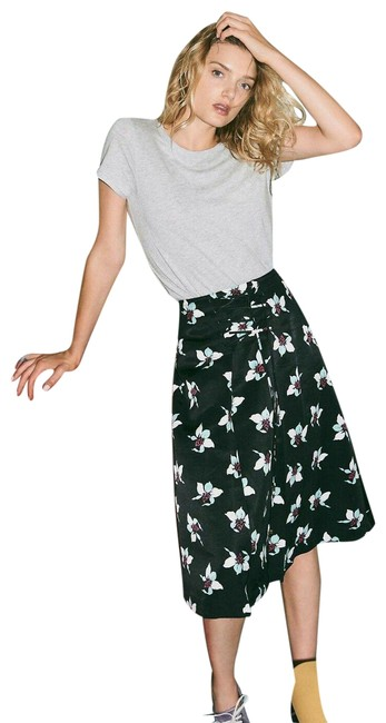 Item - Black / White / Mint A-line / Full Skirt Size 8 (M, 29, 30)