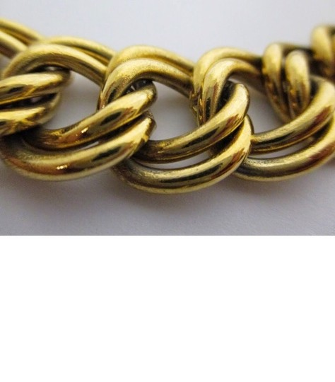 Givenchy Givenchy double chain-link 18 inch gold-tone necklace