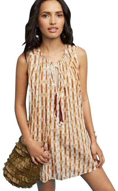 Item - Brown Tunic Short Casual Dress Size 0 (XS)