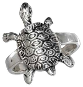 unknown Sterling Silver Turtle Ring