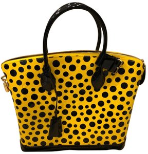 Louis Vuitton Tote in BLACK AND YELLOW