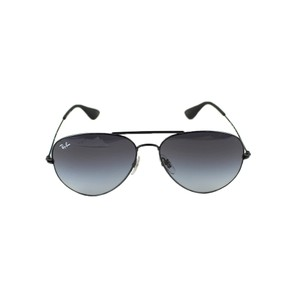 Ray-Ban Black Frame RB3558 002/8G Unisex Aviator Sunglasses