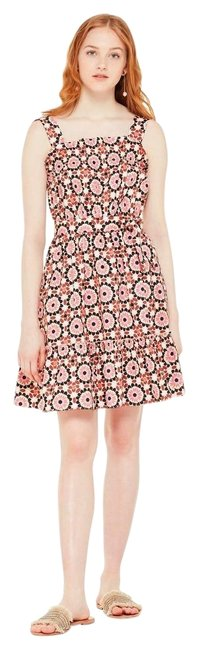 Item - Pearl Pink Floral Mosaic Sundress Short Casual Dress Size 6 (S)