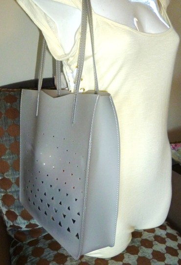 Eddie Borgo Jelly Tote in Grey