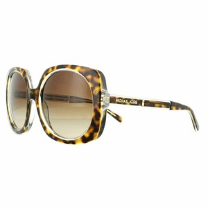 Michael Kors Brown Gradient Lens MK-2050-303413-55 Ula Women's Square