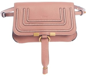 Item - Belt Marcie Convertible Blush Pink Calfskin Leather Cross Body Bag