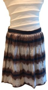Edme & Esyllte Skirt brown, navy, grey
