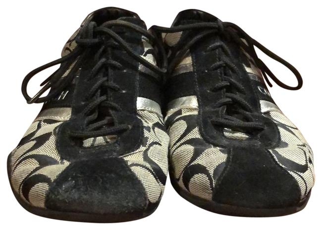 Item - Black and Silver Jayme Sneakers Size US 8 Regular (M, B)