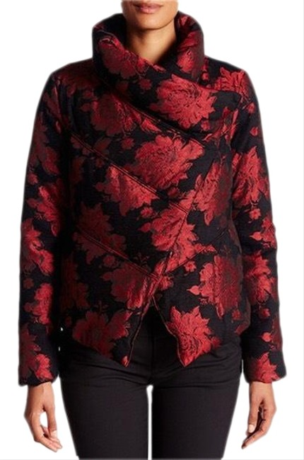 Item - Black with Red Jacket Coat Size 0 (XS)