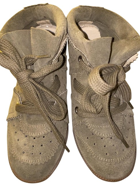 Item - Taupe/Olive Bobby Sneakers Size EU 36 (Approx. US 6) Regular (M, B)