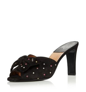 Laurence Dacade Studded Suede black Sandals