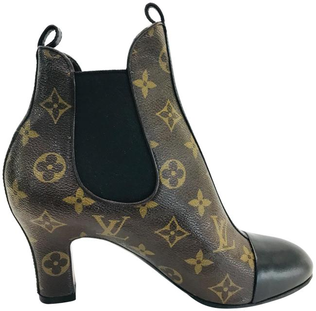 Item - Brown Monogram Revival Ankle Boots/Booties Size EU 36.5 (Approx. US 6.5) Regular (M, B)