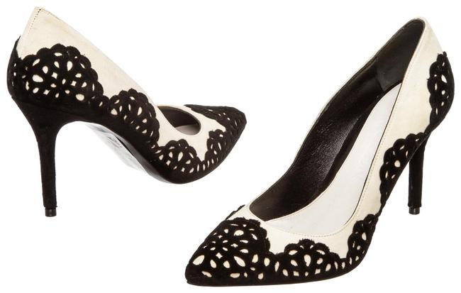 Alexander McQueen White Suede Appliques 497851 Pumps Size EU 36 (Approx. US 6) Regular (M, B) Alexander McQueen White Suede Appliques 497851 Pumps Size EU 36 (Approx. US 6) Regular (M, B) Image 1