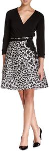 Diane von Furstenberg short dress NWOT Black, White on Tradesy