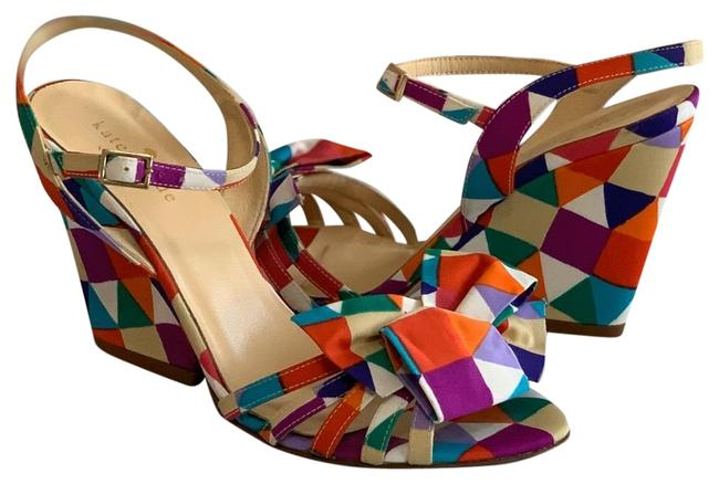 Kate Spade Multi-color Sandals Wedges Size EU 36 (Approx. US 6) Regular (M, B) Kate Spade Multi-color Sandals Wedges Size EU 36 (Approx. US 6) Regular (M, B) Image 1