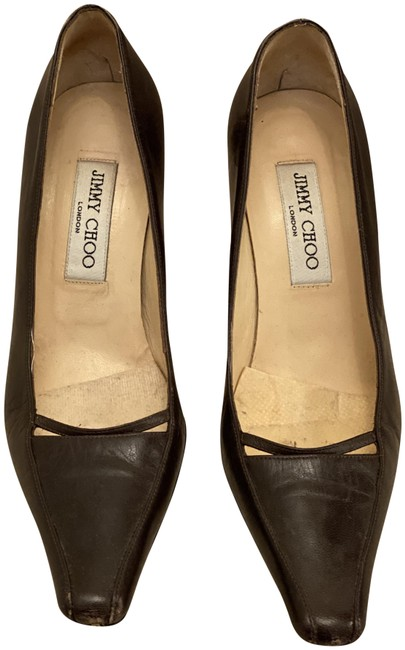 Item - Brown Pointed-toe Pumps Size EU 37 (Approx. US 7) Regular (M, B)