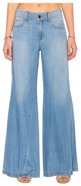 Item - Blue Nwot: Tyler Twisted Trouser/Wide Leg Jeans Size 0 (XS, 25)