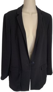 Cartonnier Anthropologie Boyfriend Jacket black Blazer