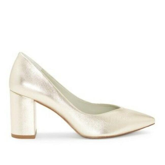 Item - Platinum Shimmer Saffy Wedding In Metallic Pumps Size US 10 Regular (M, B)