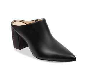 Marc Fisher Black Mules