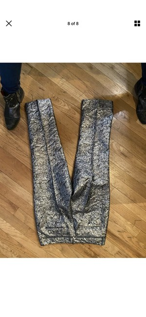 Zadig & Voltaire Capri/Cropped Pants Silver Image 7