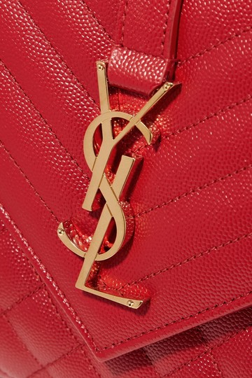 Saint Laurent Ysl Quilted Cross Body Bag Image 1