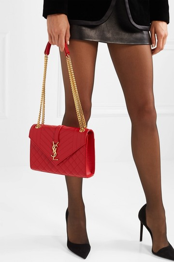 Saint Laurent Ysl Quilted Cross Body Bag Image 3