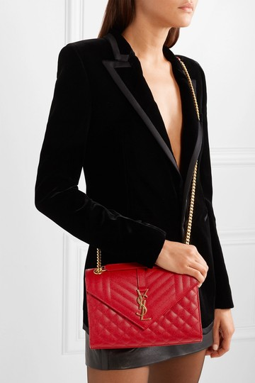 Saint Laurent Ysl Quilted Cross Body Bag Image 4